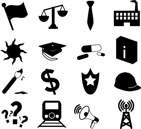 Freebies: Vector Pack 1: Occupations and Industries
