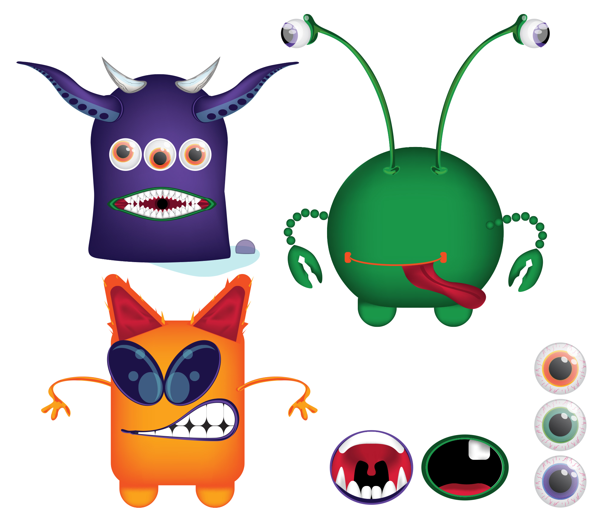 Freebies: Make Your Own Monster